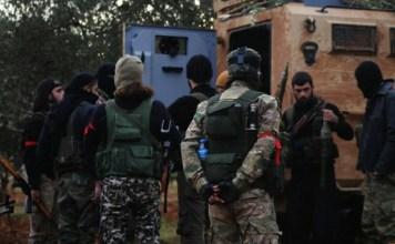 Sirijski pobunjenici, ilustracija