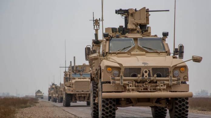 Konvoj koalicijskih vojnika u Deir Zuru, foto ilustracija