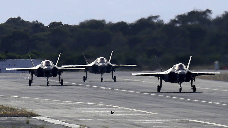 F-35B aircraft