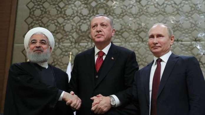 Erdogan, Putin i Ruhani