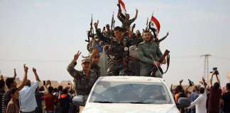 sirijske rezimske snage