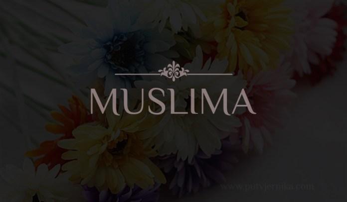 muslimanka, cvjece