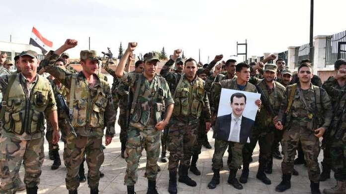 Pripadnici režimskih milicija