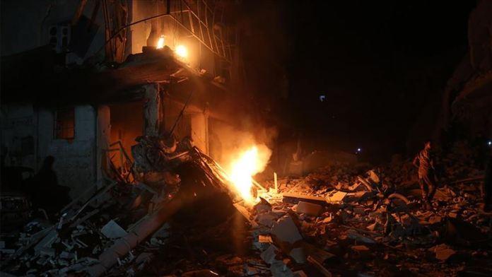 ruski napad u Idlibu