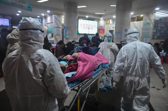 Korona virus, Kina