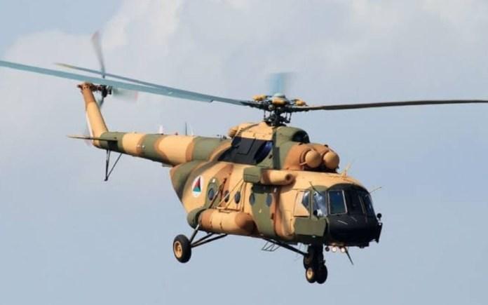 helikopter afganistanskih snaga