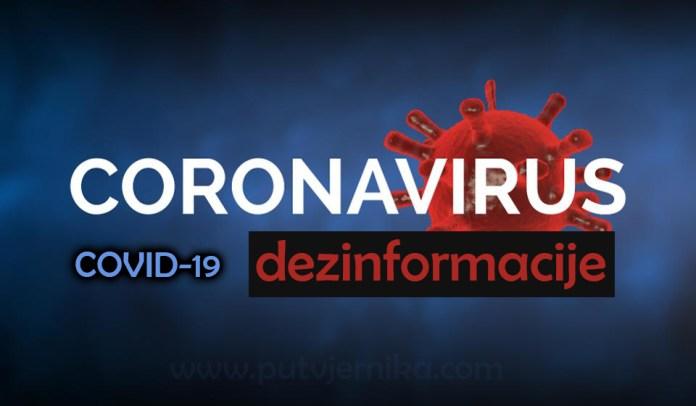 koronavirus dezinformacije