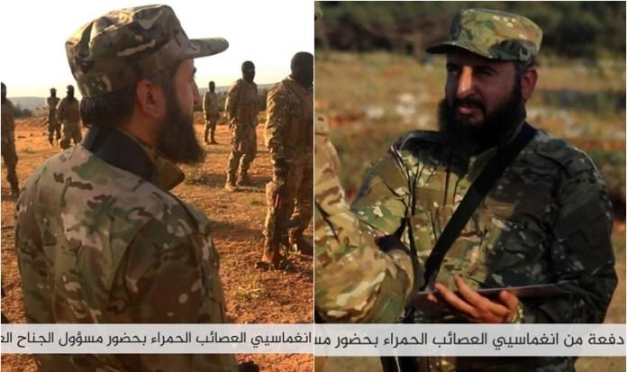 Ebu Hasan el-Hamevi - zapovjednik vojnog krila Tahriruš-Šama