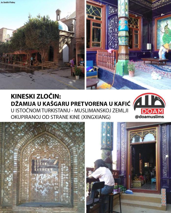 Džamija u Kašgaru pretvorena u kafić