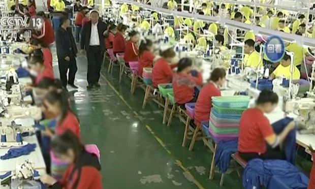 Robovska radna snaga u Kini