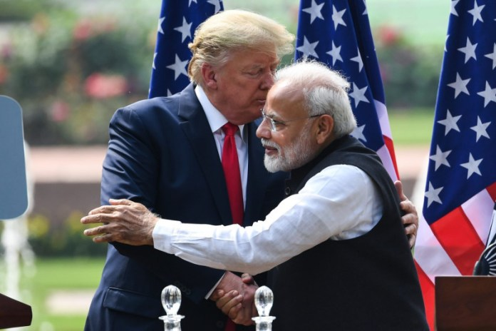 Narendra Modi i Donald Trump