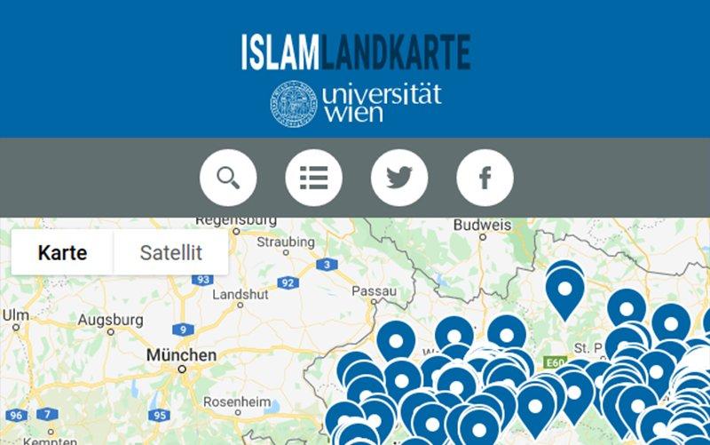 Austria-Islam-Map
