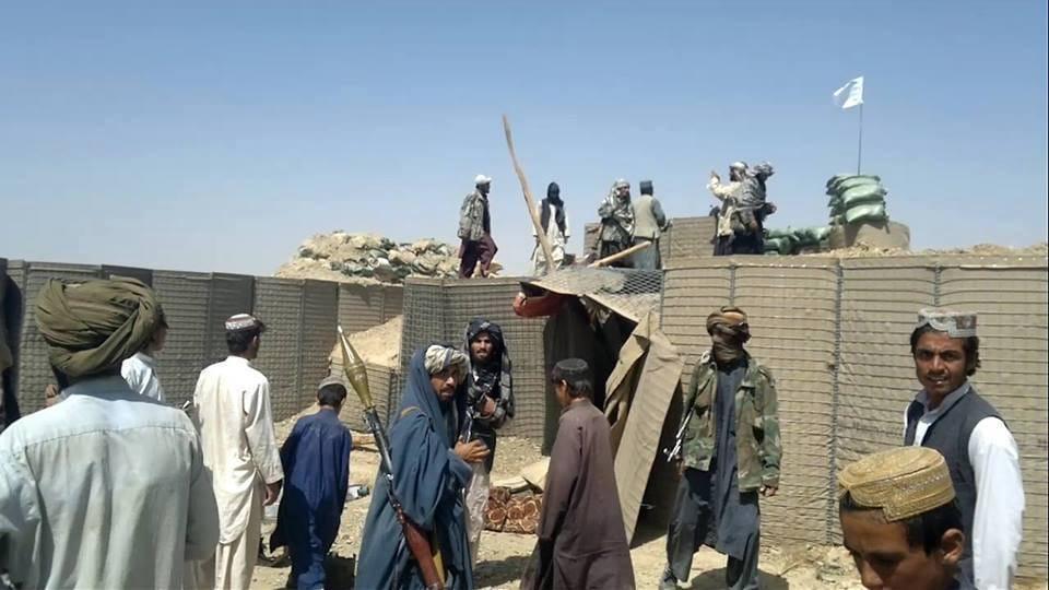 talibani osvojili bazu