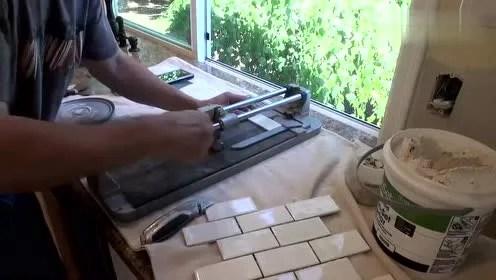 kitchen backslash 4 hole faucet 后挡板 腾讯视频 被忽略的厨房后挡板要怎么安装技巧 装完后好处
