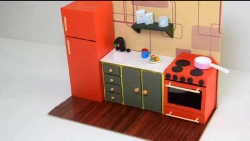 kitchen utensils set spray paint cabinets 厨房用具 腾讯视频 dly迷你厨房用具套装 仿真程度真不简单哟