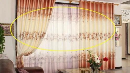 swag kitchen curtains island with pot rack 家里一旦装这种窗帘 预示夫妻感情不和 还好听了老师傅说 腾讯视频 赃物厨房窗帘