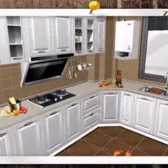 Skinny Kitchen Cabinet Travel Trailers With Rear 厨柜设计 腾讯视频 南京滟紫台小区265平方户型整体厨柜设计前移方案发布