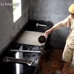 Build Kitchen Table Toddler Kitchens Play 厨房制造 腾讯视频 实拍农村自建房厨房灶台的施工工艺 学会了自己