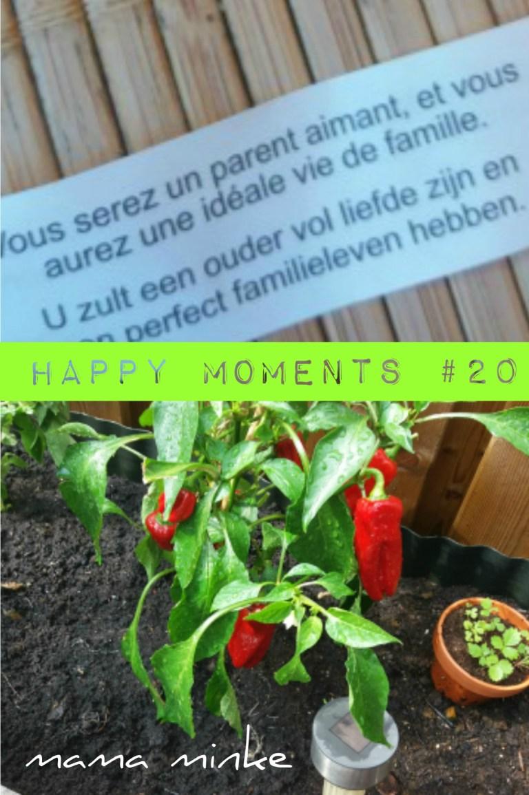 Happy moments #20: vakantie, logeren en speelgoed