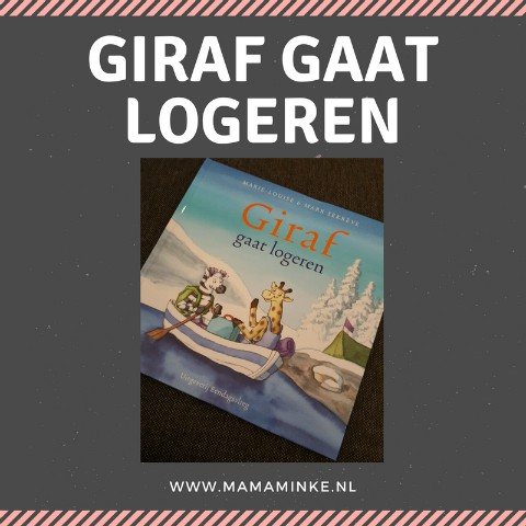Gastblogger Ilona: Giraf gaat logeren!