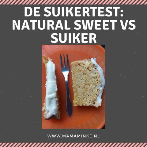 De suikertest: Natural sweet suikervervanger vs suiker