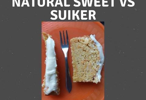 suikertest met wortelcake