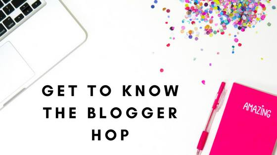 Get to know the blogger-hop
