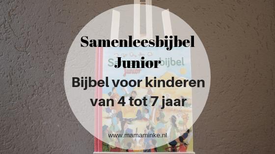 Recensie: samenleesbijbel Junior voor kinderen van 4 tot 7 jaar