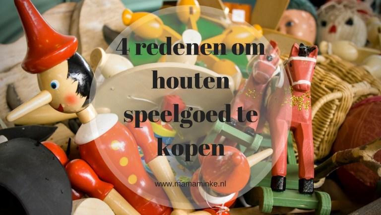 4 redenen waarom je houten speelgoed wilt kopen