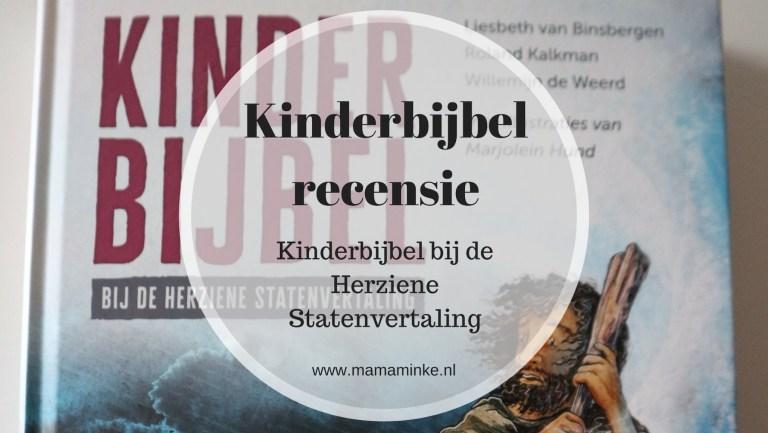 Kinderbijbel recensie: Kinderbijbel HSV met gespreksvragen