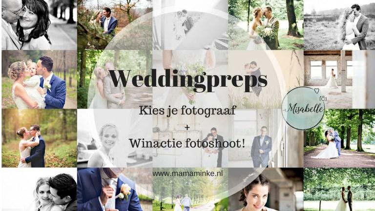 Weddingpreps: zoek een fotograaf