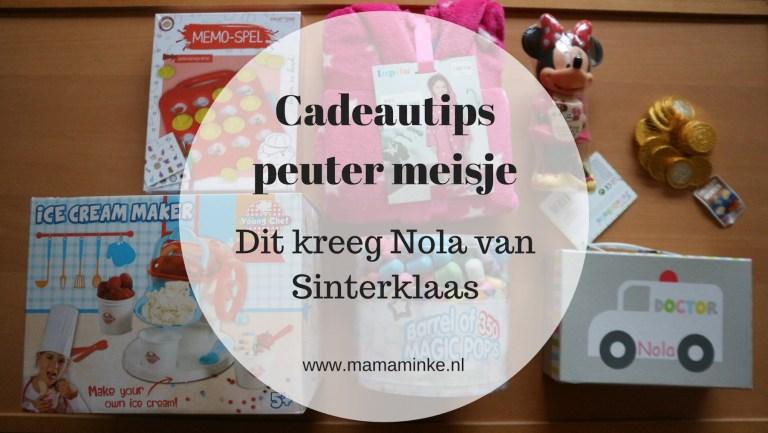 Cadeautips voor 3 jarige meisjes – Nola kreeg dit met Sinterklaas