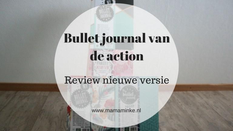 De bullet journal action review & craft spullen
