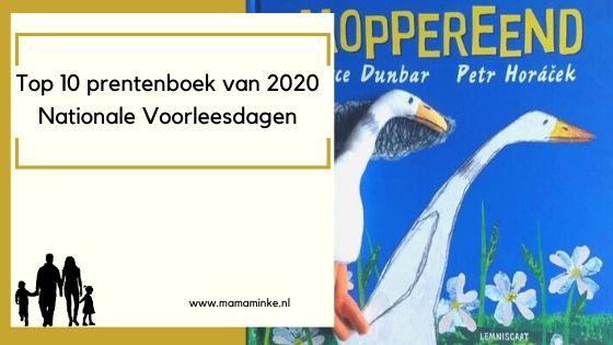 Top 10 prentenboeken Nationale Voorleesdagen 2020