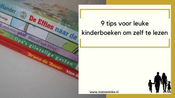 9 boeken tips voor kinderen (6-8 jaar/avi M4)