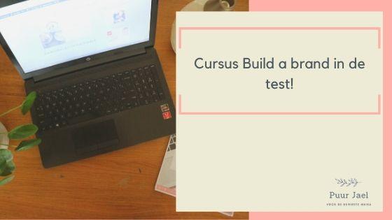 Ik volg de cursus 'Build a brand'en dit vind ik ervan