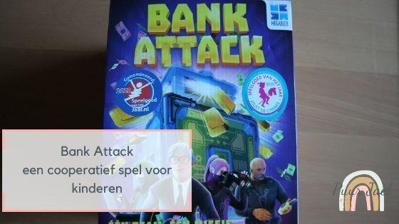 Bank Attack, een coöperatief en elektronisch spel
