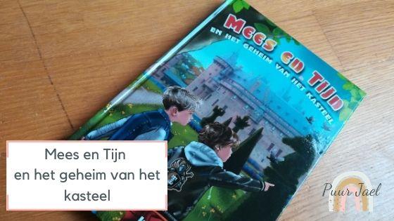Actieboek Mees en Tijn en het geheim van het kasteel