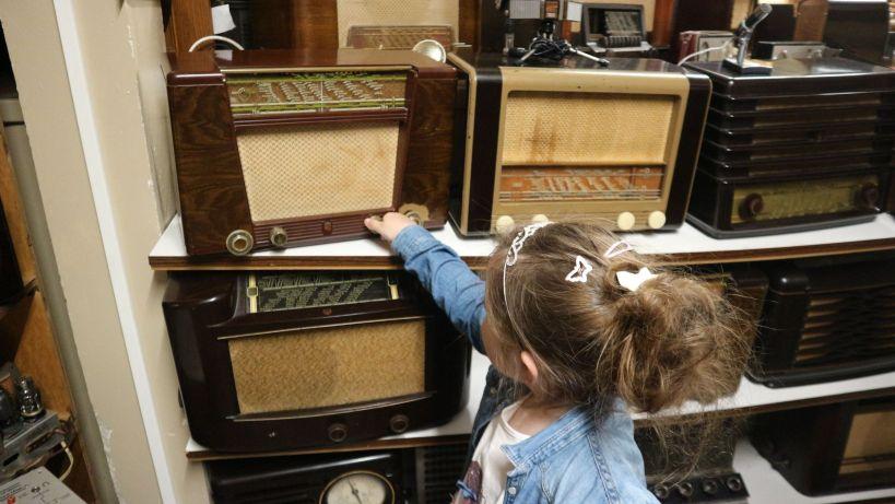 Radio oude ambachten en speelgoed museum