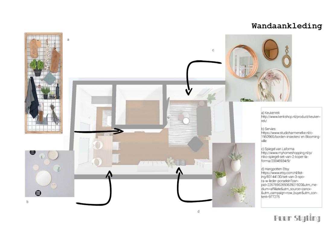 interieurplan wandaankleding puur styling