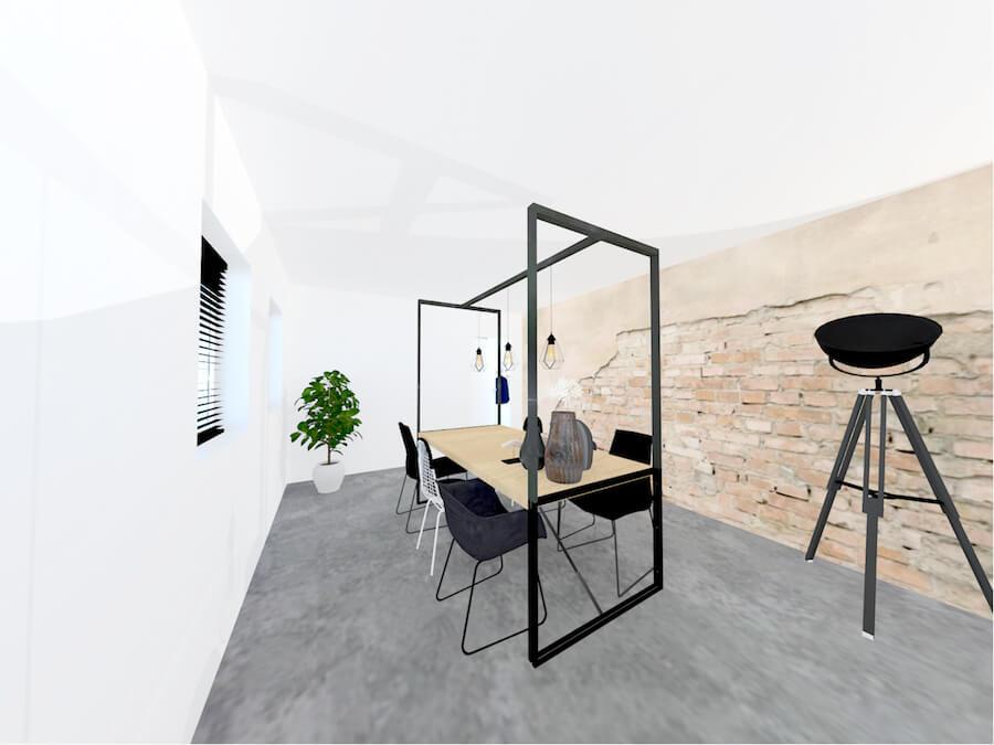 interieurontwerp 3D delfzijl kantoor
