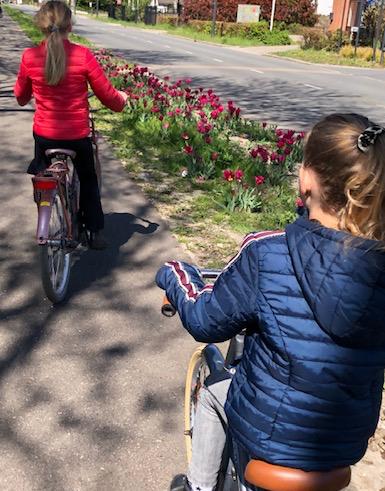 fietsen meivakantie tips puur van geluk
