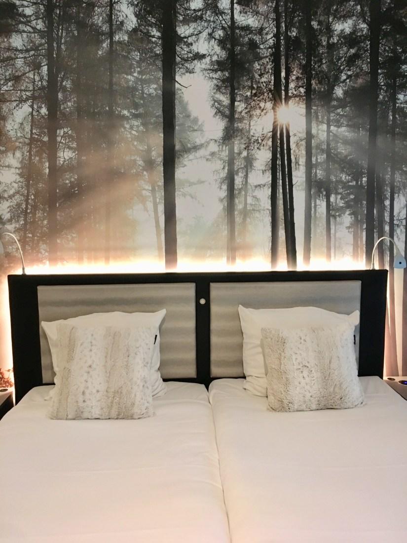 bed - slaapkamer - hotel - jagershorst - puur van geluk