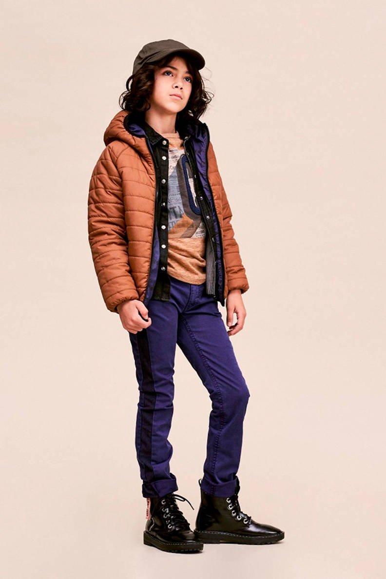 cks-kids-omkeerbare-winterjas-bartel-met-tekst-blauw-bruin-blauw-puurvangeluk