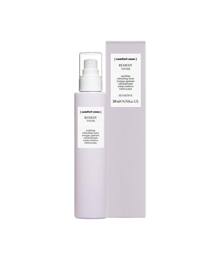 product en verpakking remedy toner 200ml [comfort zone] - puurwellnessamersfoort