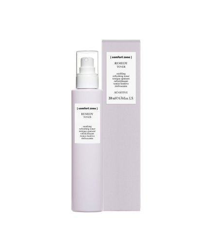 product en verpakking remedy toner 200ml [comfort zone] - puurwellnessamersfoort