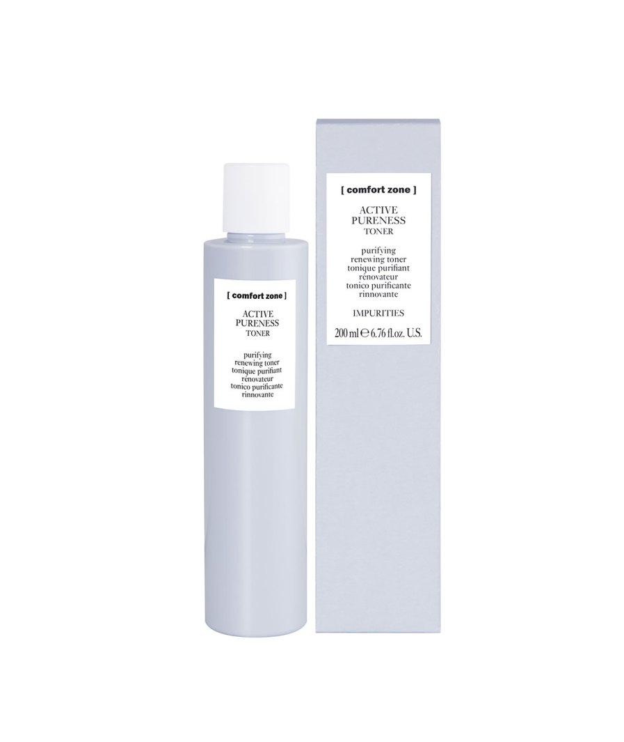 product en verpakking active pureness toner 200ml [comfort zone] puurwellnessamersfoort