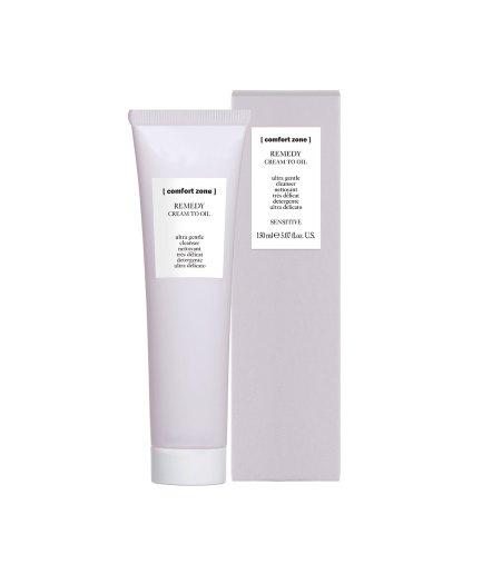 product en verpakking remedy cream-to-oil [comfort zone] 150ml puurwellnessamersfoort