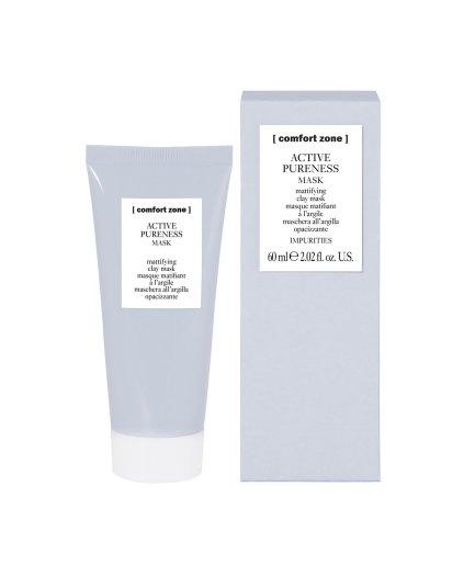 product en verpakking active pureness mask [comfort zone] 60ml-puurwellnessamersfoort