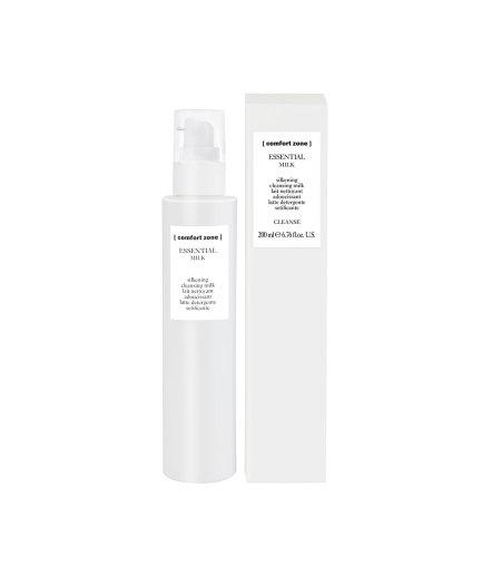 product en verpakking essential milk [comfort zone] puurwellnessamersfoort
